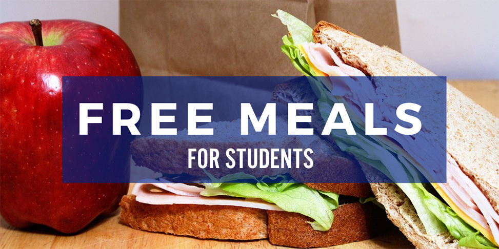 Free Meals for the Entire School Year for students