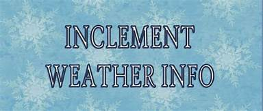 Poca Elementary School Cancellation and Delay Protocols for Inclement Weather