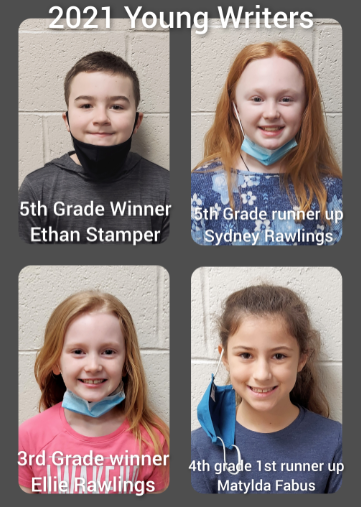 2021 Young Writers Contest Winners