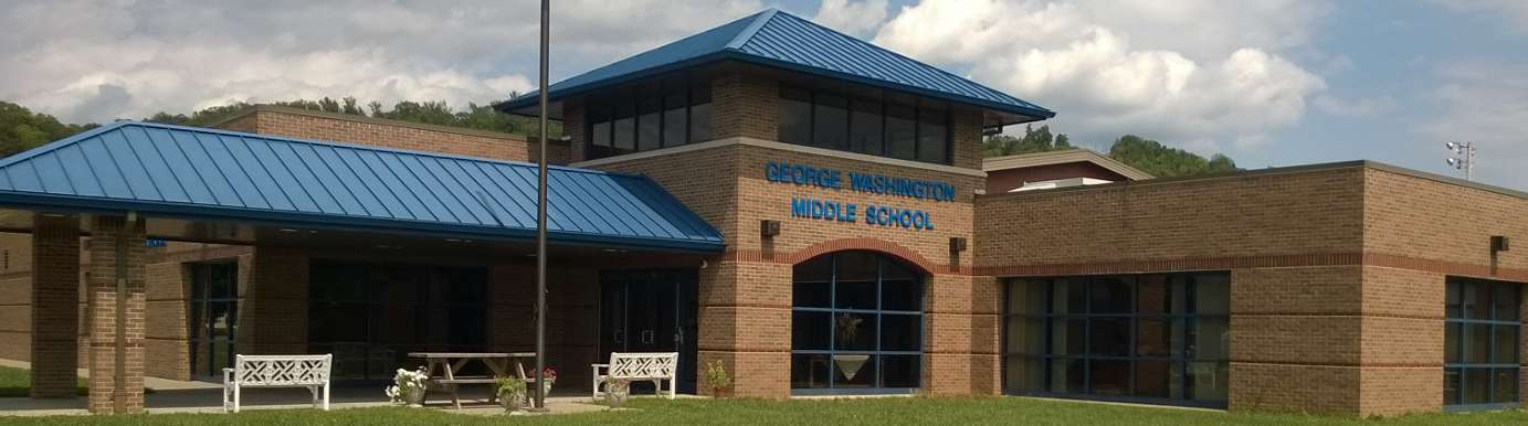 George Washington Middle School's building