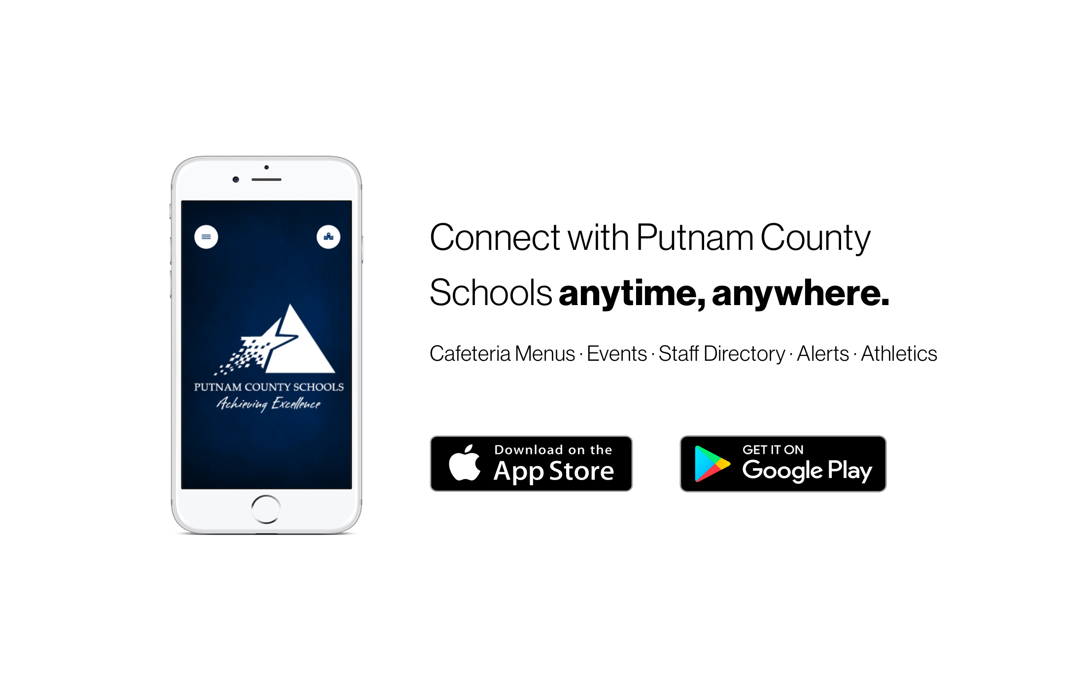 Download the new PCS Connect app from the Apple App Store or the Google Play store.